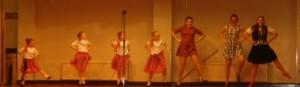 Greyabbey Highland dancers
